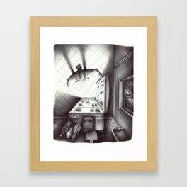 Il Frigo Framed Art Print
