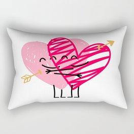 Love & Friendship Rectangular Pillow