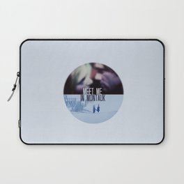 MEET ME IN MONTAUK (ETERNAL SUNSHINE OF THE SPOTLESS MIND) Laptop Sleeve