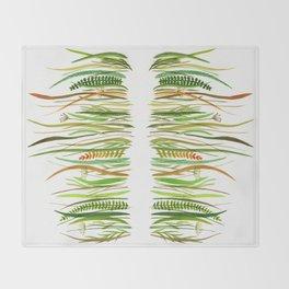 Prairie Watercolor by Robayre Throw Blanket