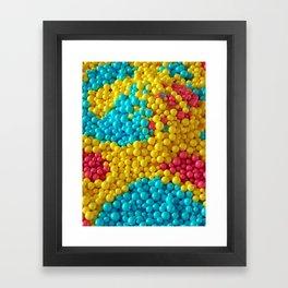 Ball Pit Framed Art Print