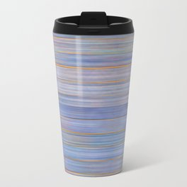 Colorful Abstract Stripped Pattern Travel Mug