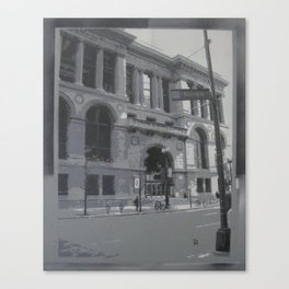 Chicago Public Library Canvas Print