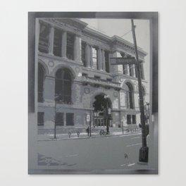 Chicago Public Library Canvas Print