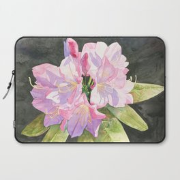 Pink Rhododendron Laptop Sleeve