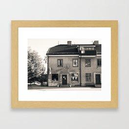 The Old Town Shop Framed Art Print