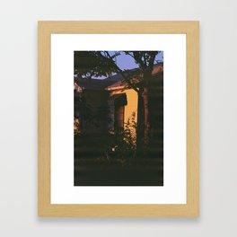 Denver Golden Hour Framed Art Print