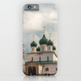 Church of Elijah the Prophet, Yaroslavl iPhone Case