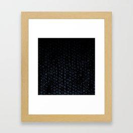 Cammo Dark Framed Art Print