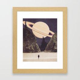'Envisage Heliocentric' Framed Art Print
