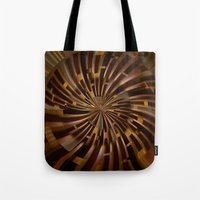 labyrinth Tote Bags featuring Labyrinth by Syella