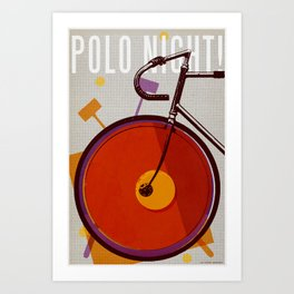 Polo Night! | Track Art Print