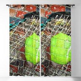 Tennis print work vs 3 Blackout Curtain