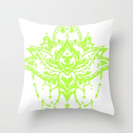 The Beauty of Mirror Throw Pillow
