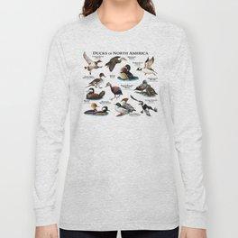 Ducks of North America Long Sleeve T-shirt