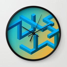 Between Metric Spaces Wall Clock