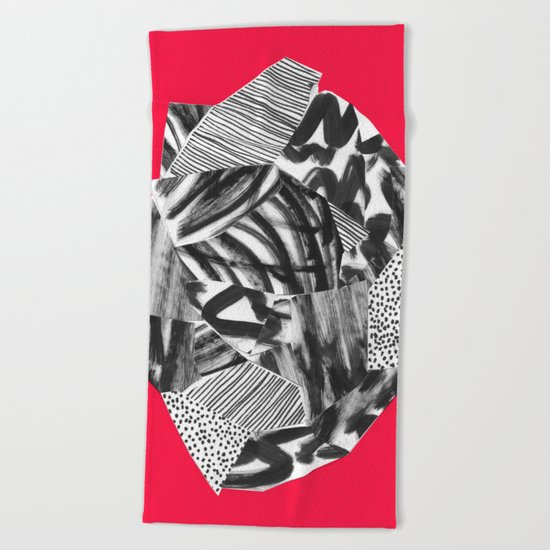 Self control Beach Towel