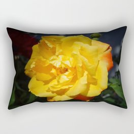 Yellow Rose Rectangular Pillow