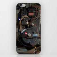 "ghostbusters iPhone & iPod Skins featuring Ghostbusters - ""Workbench""  by Matthew Clark"