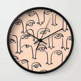 Summer Lines XIII Wall Clock