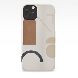Geometric Modern Art 32 iPhone Case