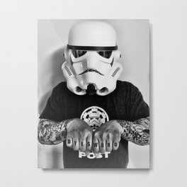 Knuckle Up Metal Print