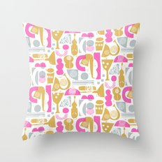funky jazz Throw Pillow