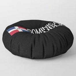 Dominican Republic: Dominican Flag & Dominican Rep Floor Pillow