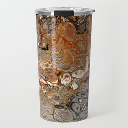Earth Tones Lava Flow Travel Mug
