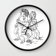 Don't Fight It, Feel It. Wall Clock