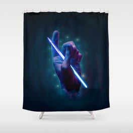 The magic of art Shower Curtain