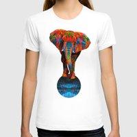 elephant T-shirts featuring Elephant by Waelad Akadan