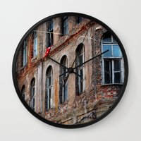 istanbul Wall Clocks featuring Istanbul by cArt
