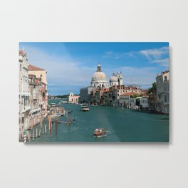 Italy. Venice in the distance Metal Print