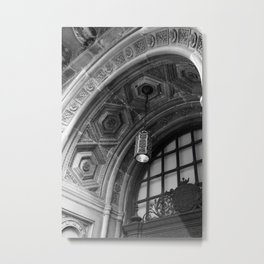 8 Cathedral Place Door Arch Metal Print