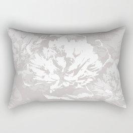 White peony Rectangular Pillow