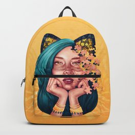 Puzzle Cat Girl Backpack