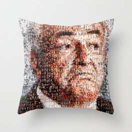 BEHIND THE FACE Dominique Strauss-Kahn | sexy girls Throw Pillow