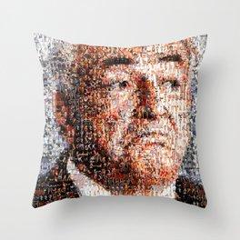 BEHIND THE FACE Dominique Strauss-Kahn   sexy girls Throw Pillow