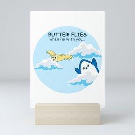 Butter Flies Gift Mini Art Print