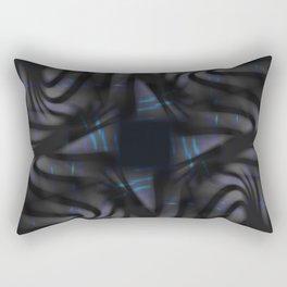 Carbon Waves Rectangular Pillow