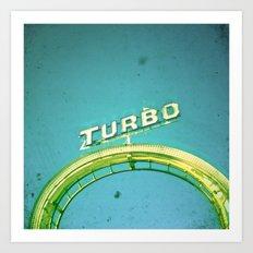 Turbo Art Print