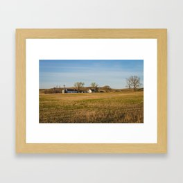 Hoffman Farm, Streeter, ND Framed Art Print