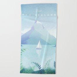 New Zealand Beach Towel