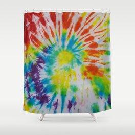 Tye Dye for Mom Shower Curtain
