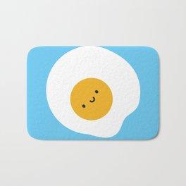 Kawaii Fried Egg Bath Mat
