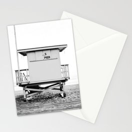 Beach Photography black and white print Stationery Cards