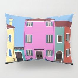 Isola di Burano, Italy Pillow Sham