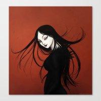vampire Canvas Prints featuring Vampire by Arbetta