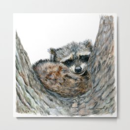 Sleepy Head by Teresa Thompson Metal Print